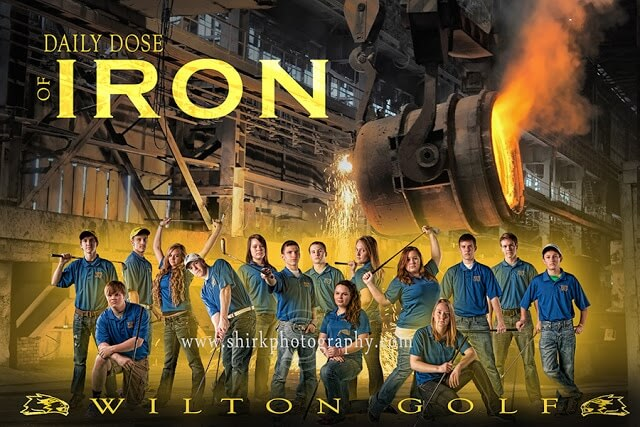 Golf-Team-Composite-Poster