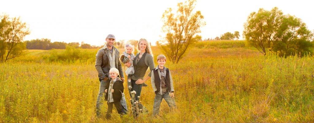 The Shirk Family - Ben, Sara, Kaden, Mason & Brynann