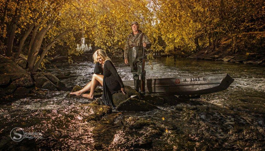 Shirk-Photography-Family-Portraits-Iowa-Creative-Couple-Hunting-Formal-Water