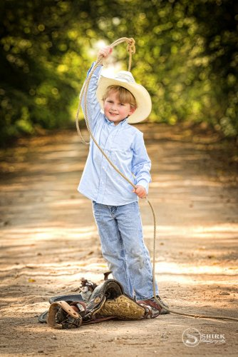 Shirk-Photography-Family-Portraits-Iowa-Creative-Cowboy-Child-Dirt-Road