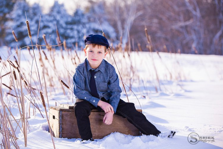 Shirk-Photography-Family-Portraits-Iowa-Creative-Snow-Son-Boy-Winter