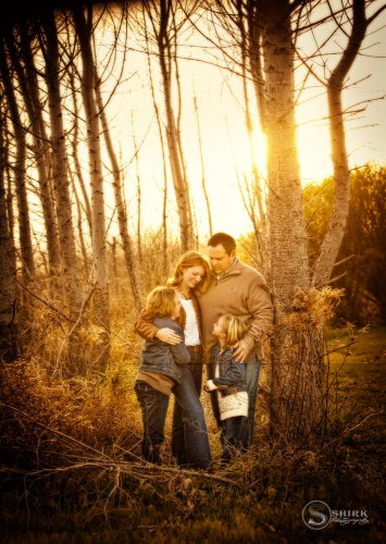 Shirk-Photography-Family-Portraits-Iowa-Creative-Sunset-Hug-Woods
