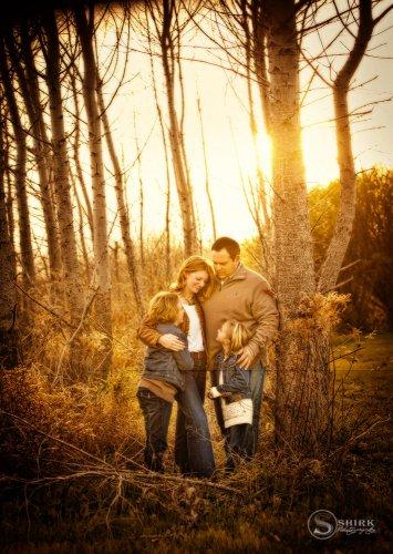 Shirk-Photography-Family-Portraits-Iowa-Creative-Sunset-Hug-Woods